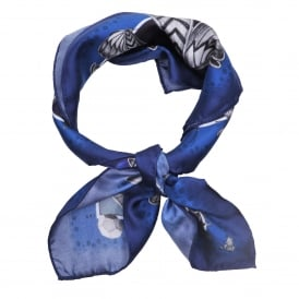 Blue Giraffe Neckerchief