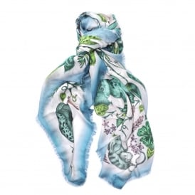 Frith Modal Blend Scarf in Jungle