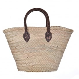 Basket with Bronze Handle
