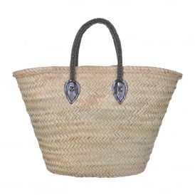 Basket with Silver Handle