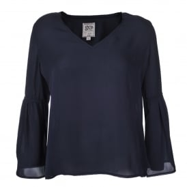 Bells & Whistles Top in Midnight