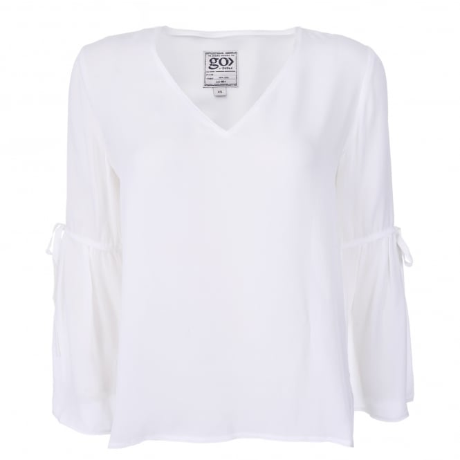 Go Silk Bells & Whistles Top in White