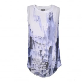 Double Layer Top in Polygraph Print