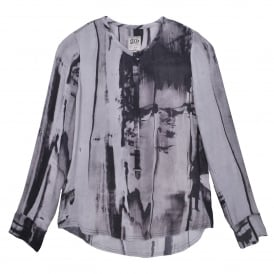 Go Clean & Simple Blouse in Dark & Stormy Night