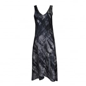 Go Glammed Dress in Etching Print
