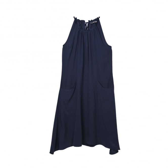 Go Silk Hanky Dress in Midnight