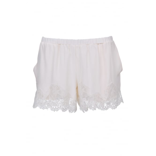 Gold Hawk Marylin Short in Antique White