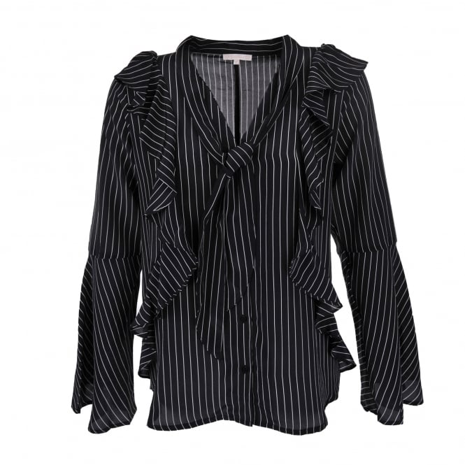 Gold Hawk Stripe Romantic Shirt