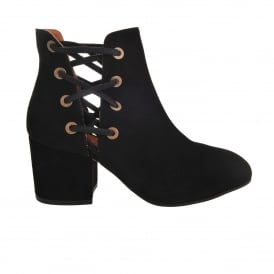 Kriss Black Lace Boots