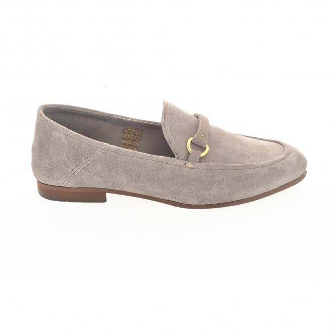 Hudson London Arianna Suede in Taupe