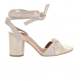 Fiji Ankle Strap Sandal in Gold