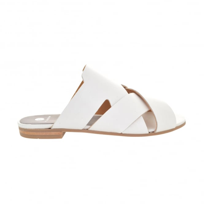 Hudson London Lonatu Cross Strap Slide Sandal