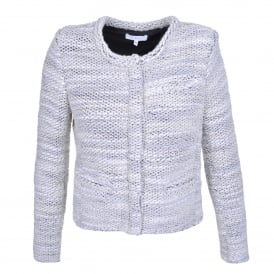 Carene Black and White Boucle Jacket