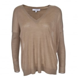 Homera Sweater in Light Khaki