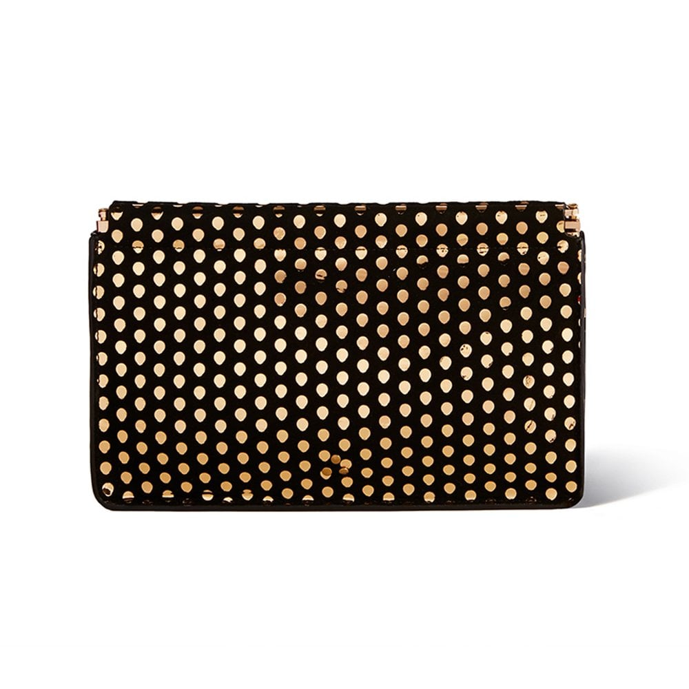 d83b28b78d Jerome Dreyfuss Clic Clac Clutch Bag in Pois Or