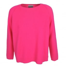Heavy Sweater in Neon Pink