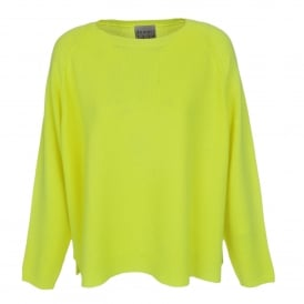 Heavy Sweater in Neon Yellow