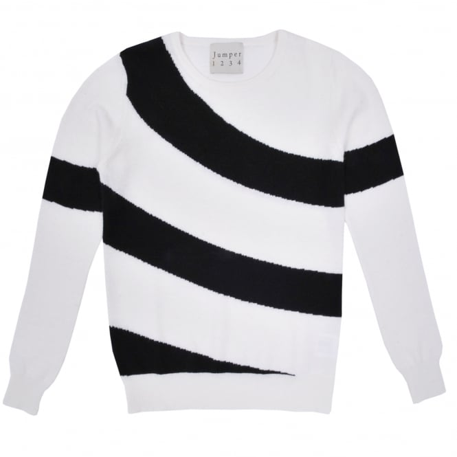 Jumper 1234 Hoop Stripe Crew Sweater