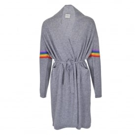 Rainbow Cashmere Dressing Gown