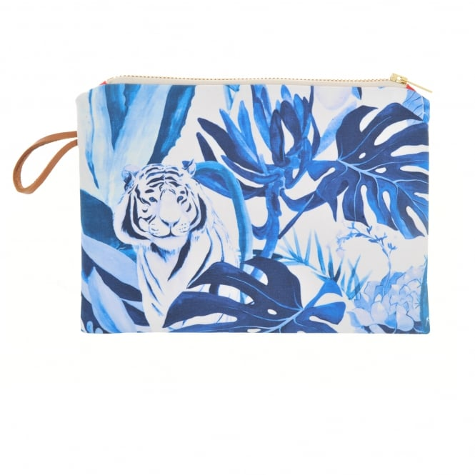 Maison Baluchon Small Clutch in Tropical