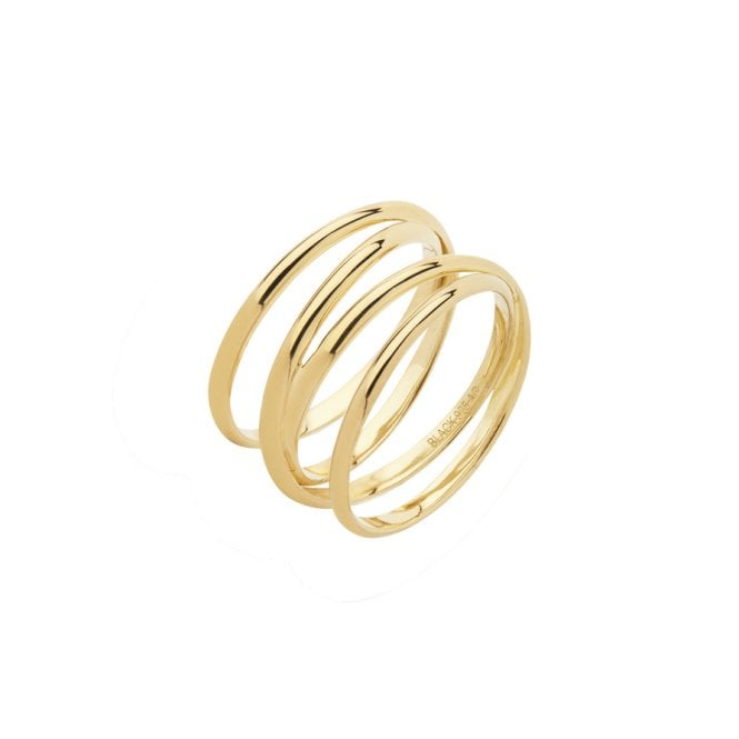 Maria Black Auguste Wrap Ring in Gold