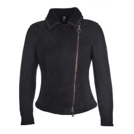 Matchless Kate Shearling Jacket in Black