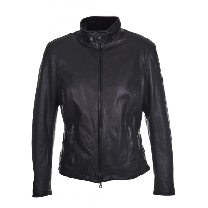 Matchless Osborne Leather Jacket in Black