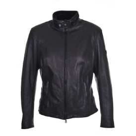 Osborne Leather Jacket in Black