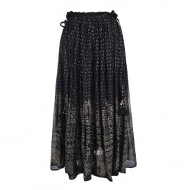 Byzantine Skirt in Black