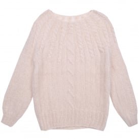 Deva Knitted Sweater in Ivory