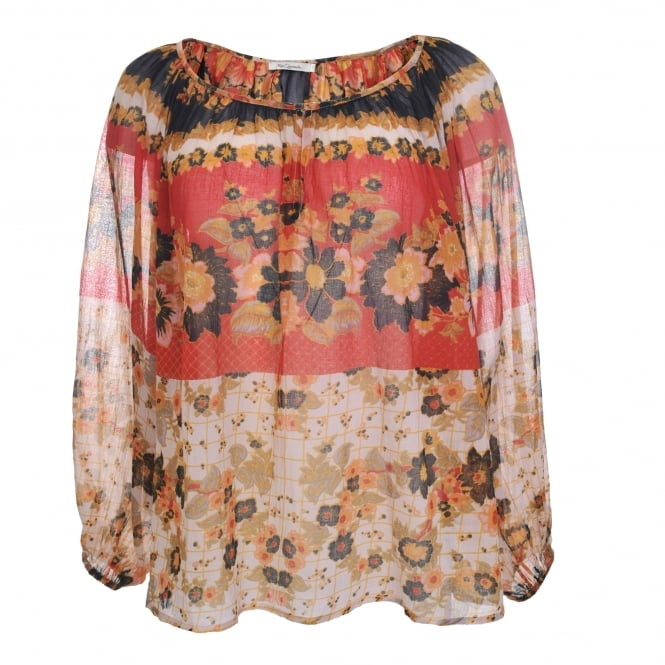 Mes Demoiselles Marushka Blouse in Floral Combo