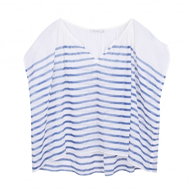 Mes Demoiselles Mathilde Tunic Blue Stripes