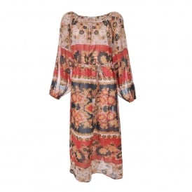Matrioshka Dress in Floral Combo