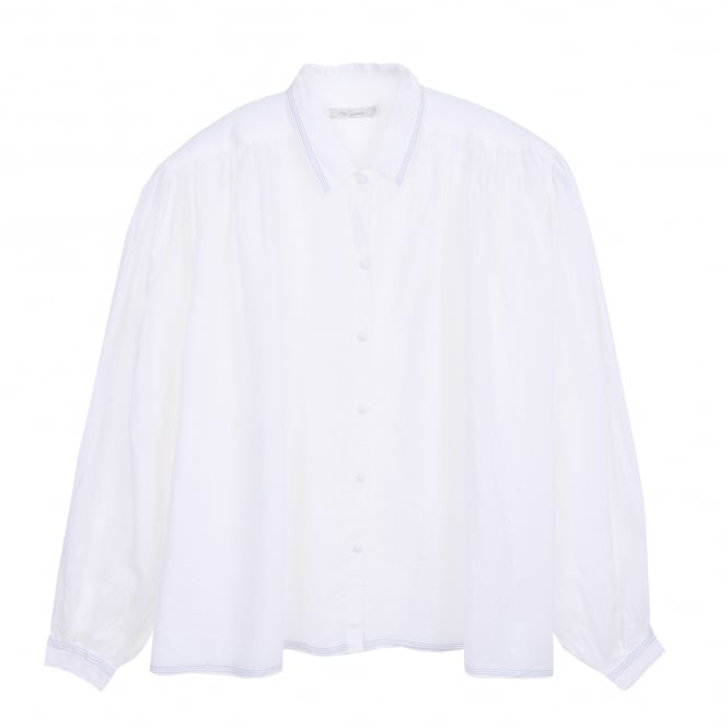 Mes Demoiselles Olympe Shirt in White