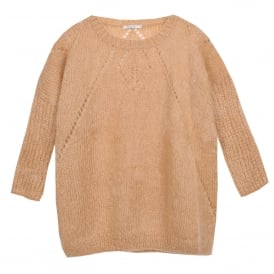 Ordan Over Sized Sweater in Sand