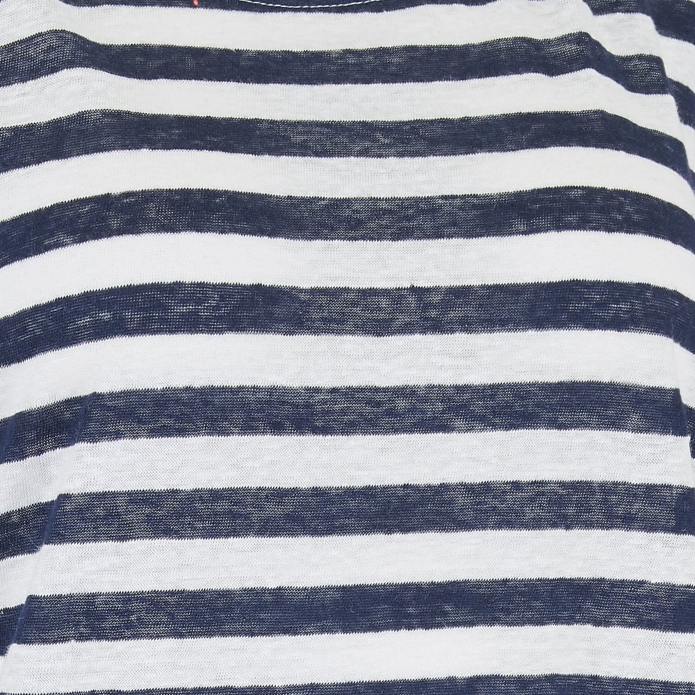 d7e6c97e01b60 Michael Stars Kelly Boat Neck Tee in Admiral Stripe | Stanwells