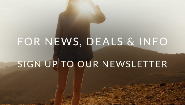 For News, Deals & Info - Sign Up To Our Newsletter