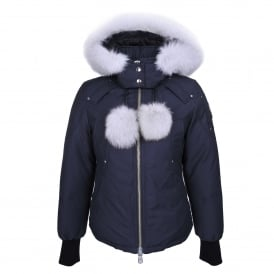 Beaver Jacket in Navy