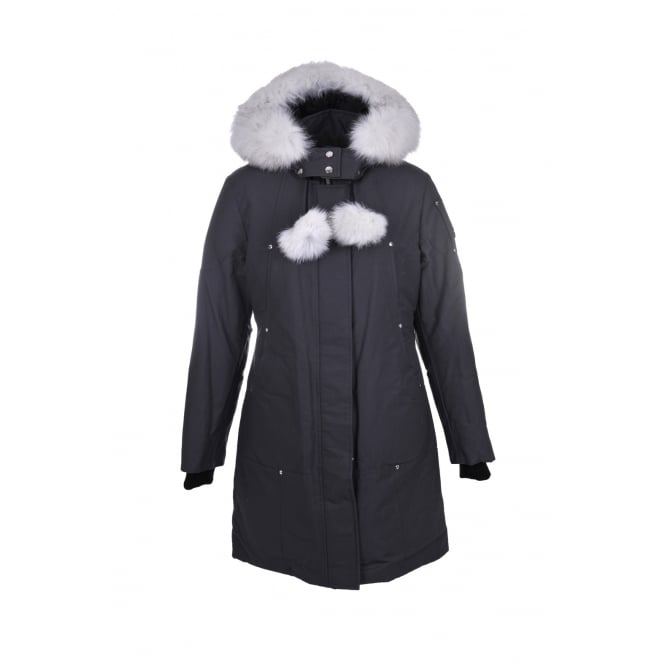 Moose Knuckles Stirling Parka in Grey