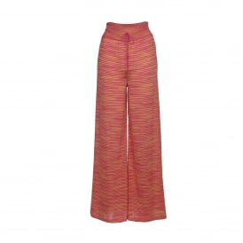 Palazzo Pant in Pink & Orange