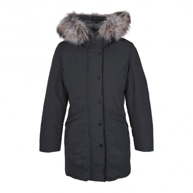 Parajumpers Angie Down Coat in Deep Grey