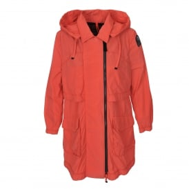 Delong Jacket in Mandarin Red