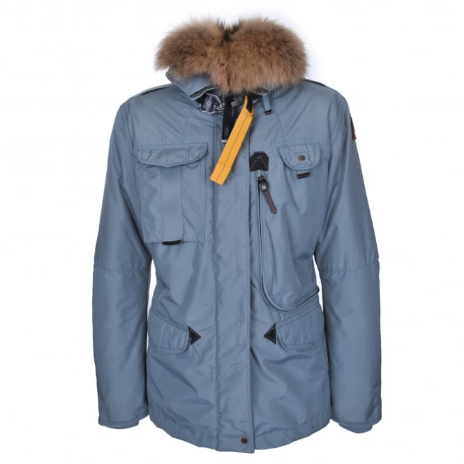 Parajumpers Denali Jacket in Green/Blue