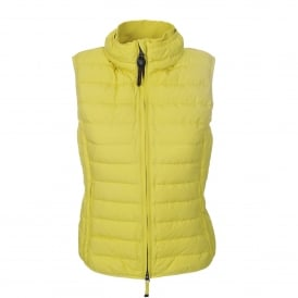Dodi Gilet in Acid Green