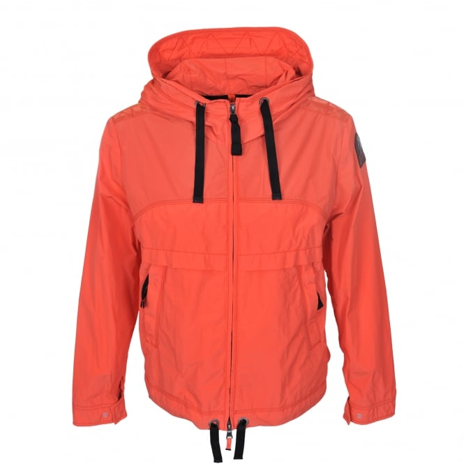 Parajumpers Goldie Jacket in Mandarin Red