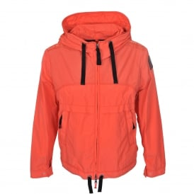 Goldie Jacket in Mandarin Red