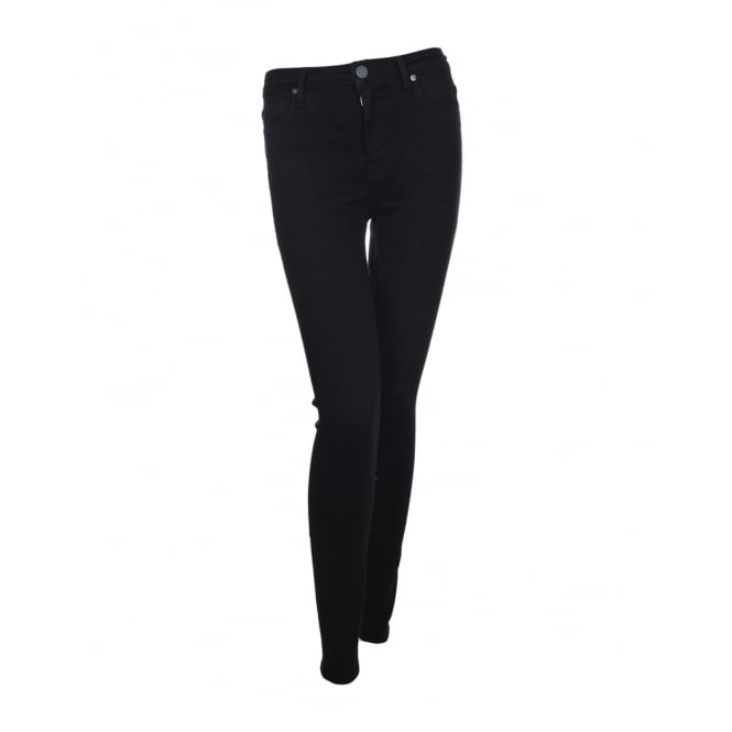 Parker Smith Jeans Bombshell Skinny in Black