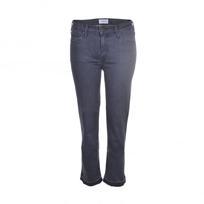 Parker Smith Jeans Cropped Straight in Crome