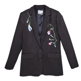 Siegfried Embroidered Stripe Jacket