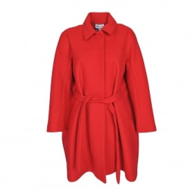 Tsar Red Wool Coat